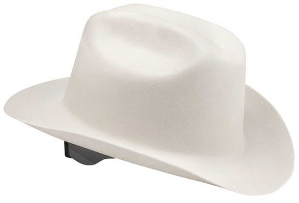 Jackson White Western Outlaw Hard Hat 19500