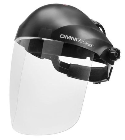 Lincoln OMNIShield Clear Face Shield - Anti-fog K3751-1
