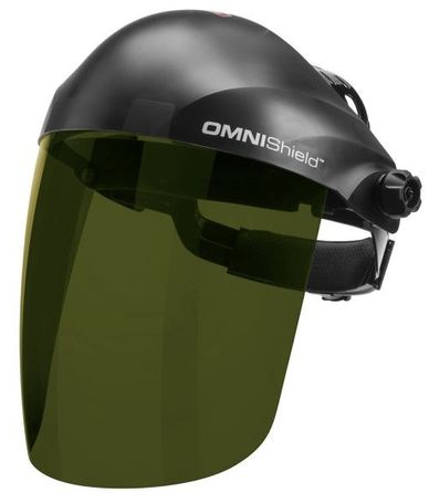 Lincoln OMNIShield Shade 5 Face Shield - Uncoated K3754-1