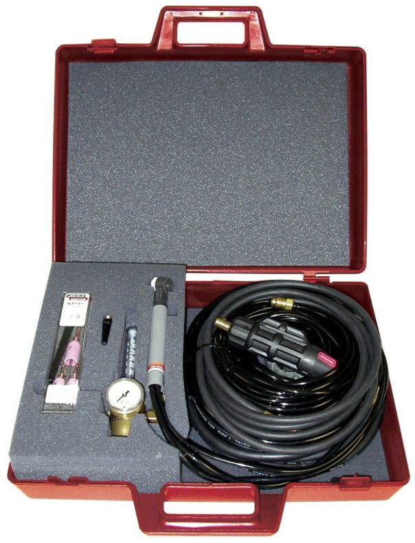 Lincoln TIG-MATE™ 20 WATER-COOLED TIG TORCH STARTER PACK
