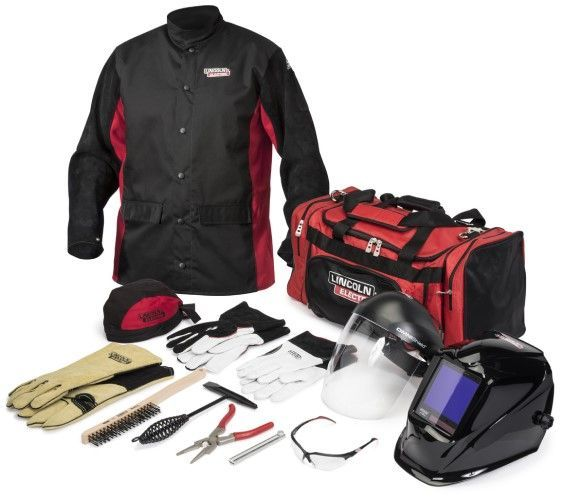 Lincoln Premium Welding Gear Ready-Pak K3715
