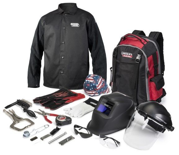 Lincoln Intermediate Education Welding Gear Ready-Pak K4595