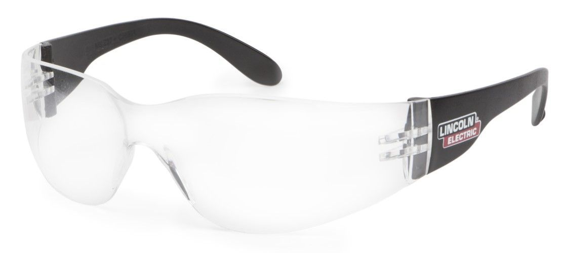 Lincoln Traditional Clear Welding Safety Glasses K3104-1