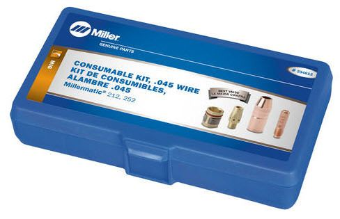 Miller .045 M-25 MIG Consumable Kit 234612