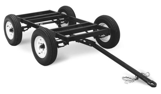 Miller 4 West Four-Wheel Steerable Off-Road Trailer 042801