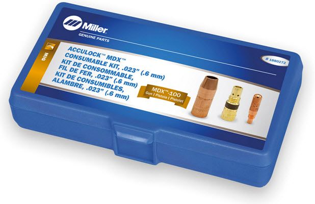 Miller MDX-100 Acculock MDX .023 Consumables Kit 1880272