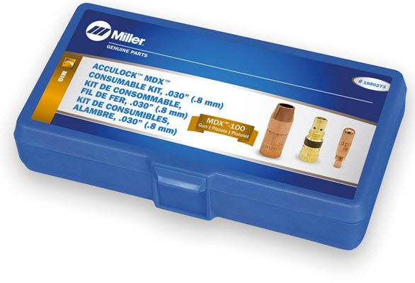 Miller MDX-100 Acculock MDX .030 Consumables Kit 1880273