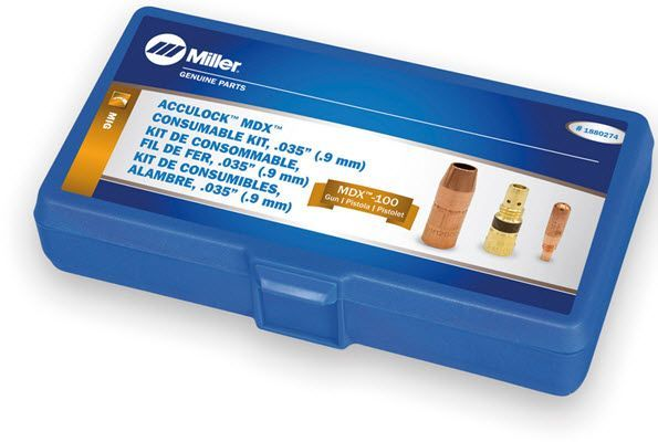 Miller MDX-100 Acculock MDX .035 Consumables Kit 1880274