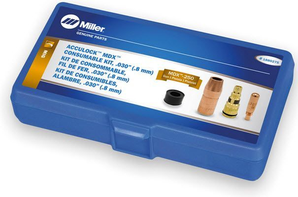 Miller MDX-250 Acculock MDX .030 Consumables Kit 1880275