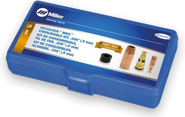 Miller MDX-250 Acculock MDX .035 Consumables Kit 1880276