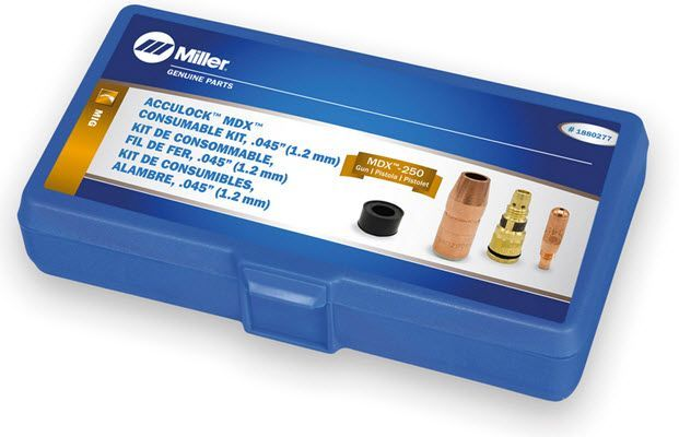 Miller MDX-250 Acculock MDX .045 Consumables Kit 1880277