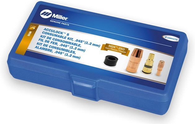 Miller MDX-250 Acculock S .045 Consumables Kit 1880279