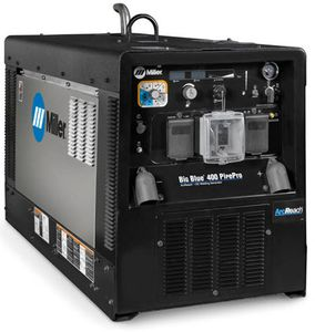 Miller Big Blue 400 Pipe Pro Diesel Welder w/Stainless Steel 907703