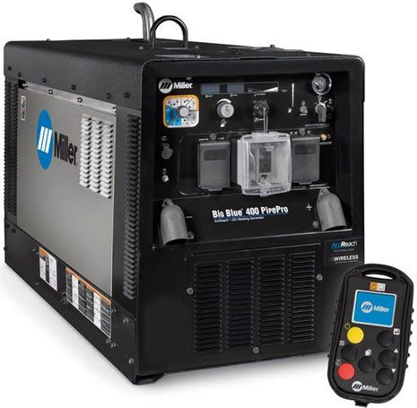 Miller SS Big Blue 400 Pipe Pro With Wireless Interface Control 907805