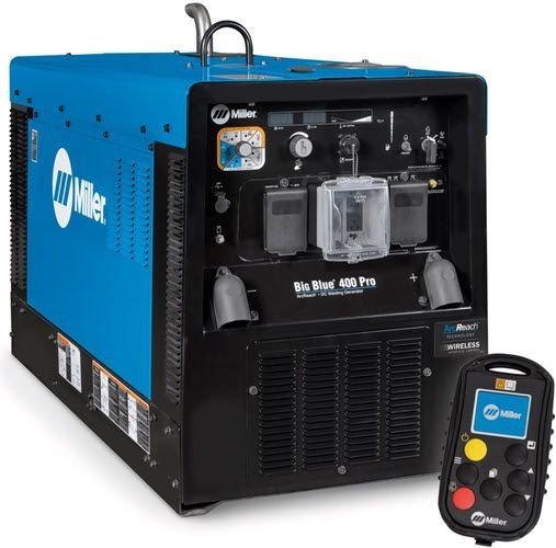 Miller Big Blue 400 Pro With Wireless Interface Control 907774003