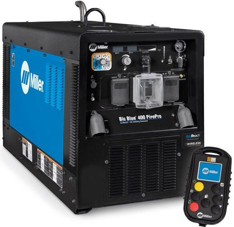 Miller Big Blue 400 Pipe Pro With Wireless Interface Control 907805001