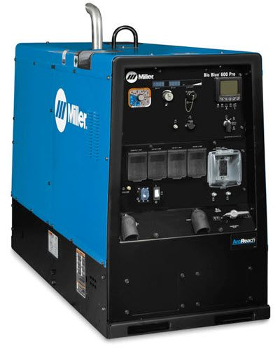 Miller Big Blue 600 Pro Deluxe Diesel Welder w/ArcReach 907737001