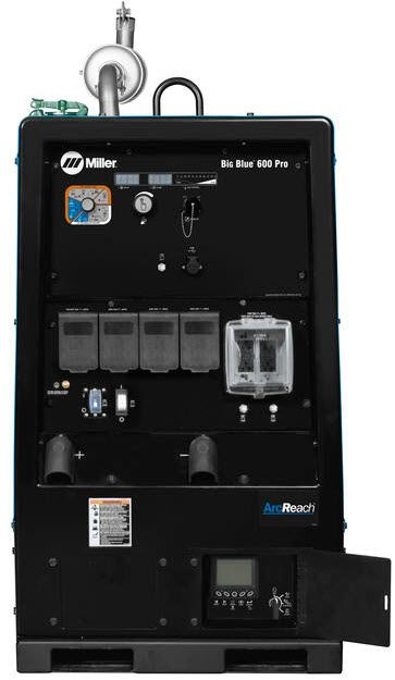 Miller Big Blue 600 Pro Truck Specific Welder w/ArcReach 907737002