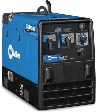 Miller Bobcat 260 Welder w/GFCI & Remote Start/Stop 907792