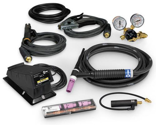 Miller 200 Amp TIG/Stick Contractor Kit with RFCS-14HD 301549