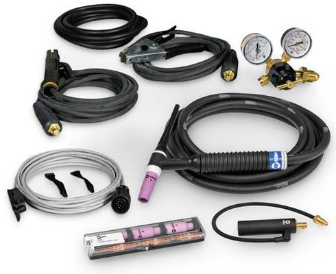 Miller 200 Amp TIG/Stick Contractor Kit with RCCS-14 301550