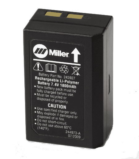 Miller Coolband Replacement Battery 243927