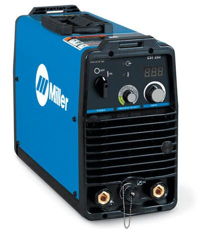 Miller CST 280 Stick Welder With Meter 907563