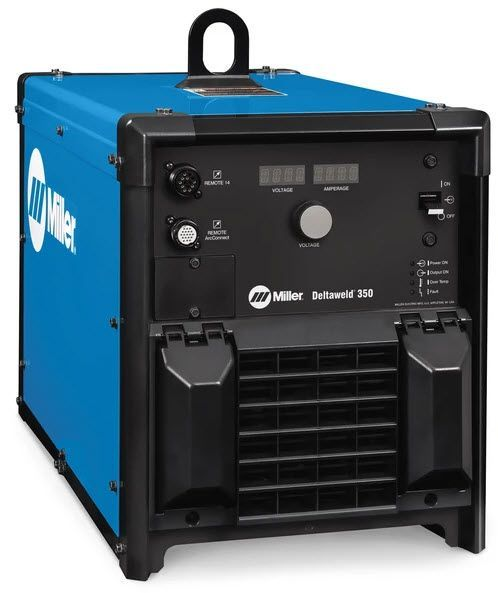 Miller Deltaweld 350 w/14-Pin and ArcConnect 907747001