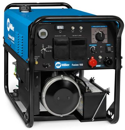Miller Fusion 160 Welder w/Electric Start 907773