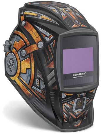 Miller Welding Helmet - Gear Box Elite ClearLight Lens 281009