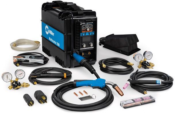 Miller Multimatic 200 With WP17 TIG Kit 951649