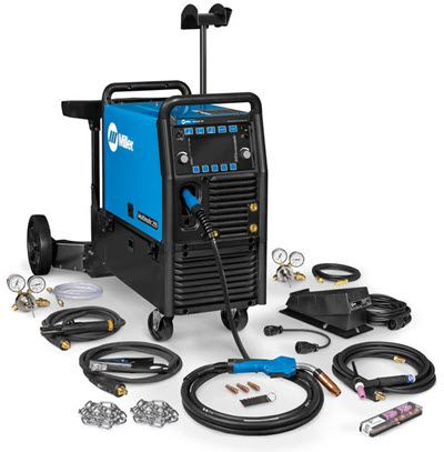 Miller Multimatic 255 w/Dual Cylinder & TIG Kit Package 951768