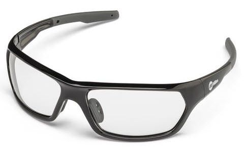 Miller Slag Black Clear Safety Glasses 272201