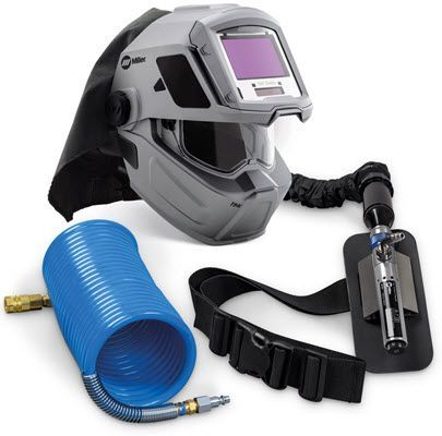 Miller SAR Supplied Air Respirator w/100 ft. Coiled Air Hose 951803