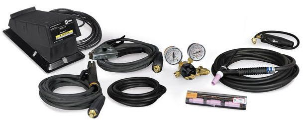 Miller 150 Amp TIG/Stick Contractor Kit with RFCS-14HD 301309