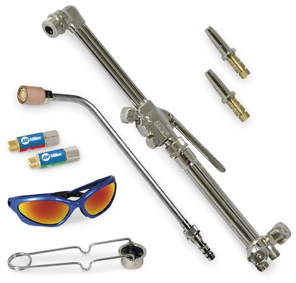 Smith Toughcut Select Pack Torch and Tips, Propane 287644