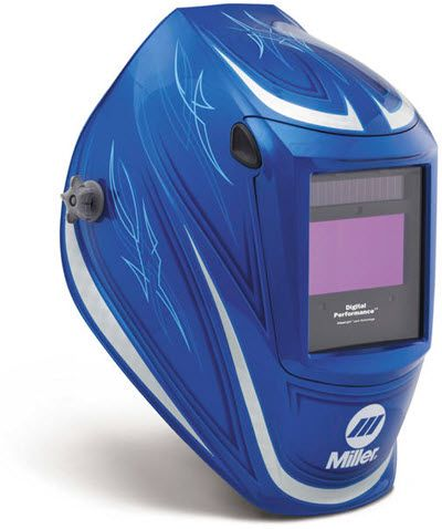 Miller Welding Helmet - '64 Custom Performance ClearLight Lens 282002
