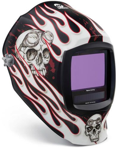 Miller Welding Helmet - Departed Infinity ClearLight Lens 280048