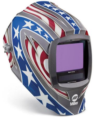 Miller Welding Helmet-Stars & Stripes Infinity ClearLight Lens 280049