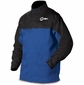 Miller Welding Jacket Size M - INDURA Cotton w/Leather Sleeves 231081
