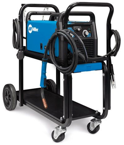 Millermatic 211 Mig Welder With Advanced Auto Set And Cart 951603