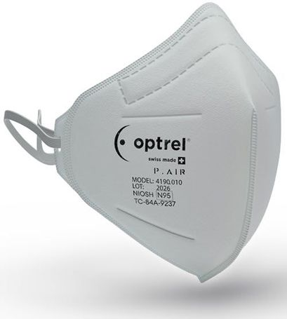 Optrel P.AIR N95 Disposable Respirator (50 Count) 4190.010