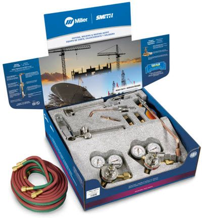 Smith Welding & Cutting Outfit - Heavy Duty HBA-30510