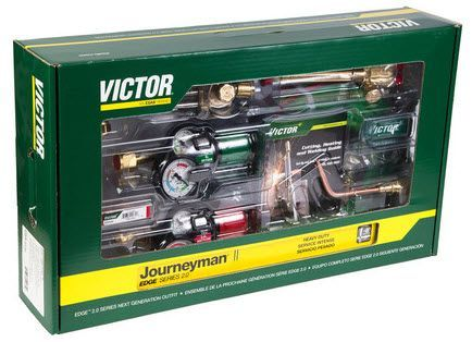Victor Journeyman II EDGE 2.0 Welding & Cutting Outfit 0384-2111