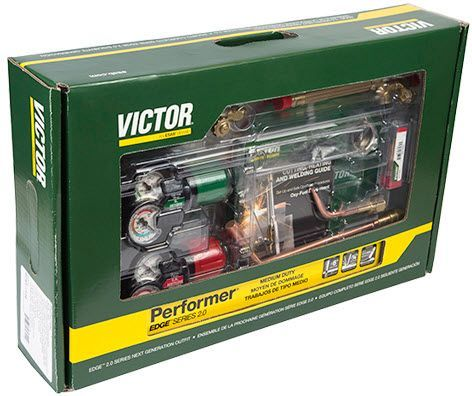 Victor Performer EDGE 2.0 Welding, Heating & Cutting Outfit 0384-2126