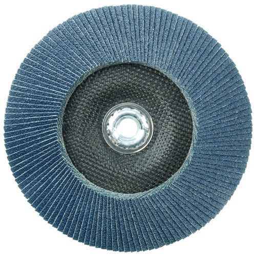 "Weiler Tiger Big Cat Flap Disc - 7"" Type 27 w/Hub 40 Grit 50843"