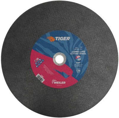 "Weiler Tiger Chop Saw Cutting Wheel - 14"" X 3/32"" Type 1 57092"