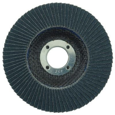 """Weiler Tiger Paw Flap Disc - 4 1/2"""" Type 27 7/8 Arbor 80 Grit 51110"""