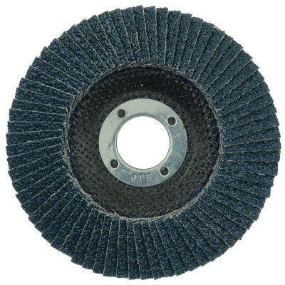 """Weiler Tiger Paw Flap Disc - 4 1/2"""" Type 29 7/8 Arbor 40 Grit 51119"""