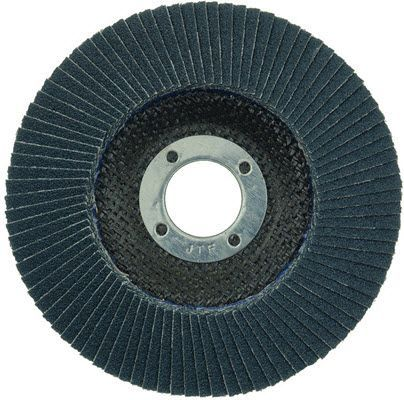 """Weiler Tiger Paw Flap Disc - 4 1/2"""" Type 29 7/8 Arbor 60 Grit 51120"""